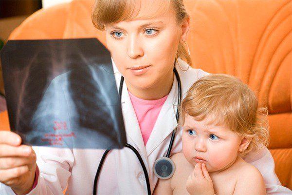 Пневмония у детей - симптомы и лечение, фото и видео.
