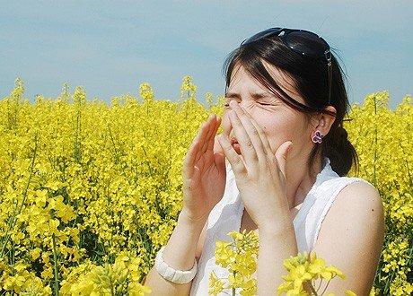 Аллергия на цветение — симптомы и лечение