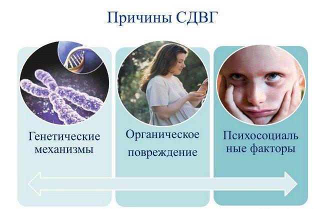 Синдром дефицита внимания — симптомы и лечение