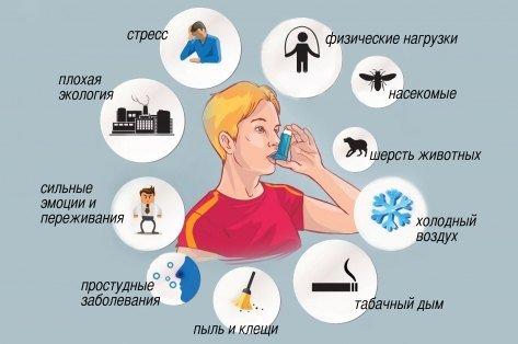 Бронхиальная астма у детей — симптомы и лечение, фото и видео