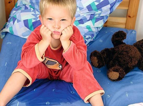 Лечение недержания мочи у детей, фото и видео