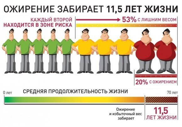 Абдоминальное ожирение - симптомы и лечение, фото и видео.