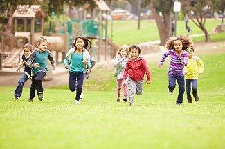 Детям с астмой полезно жить возле парка