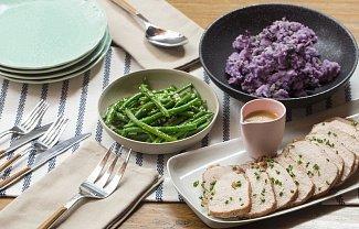 Фиолетовый картофель защищает от рака кишечника