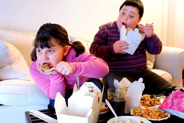 Ожирение у детей - симптомы и лечение, фото и видео.