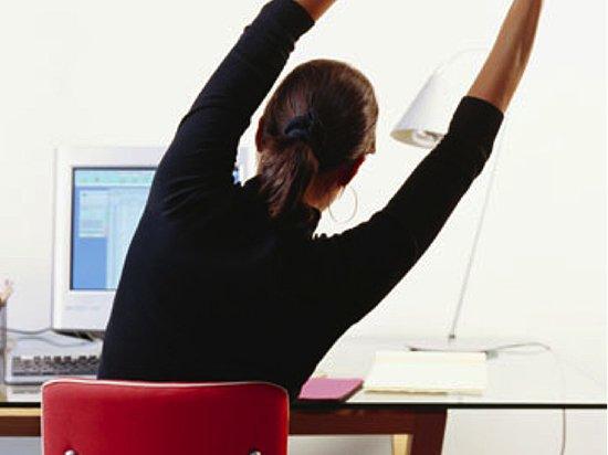 Работники офиса ходят в десять раз меньше «здоровой» нормы