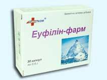 Эуфиллин — инструкция по применению, цена
