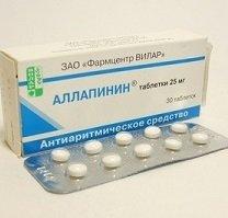 Аллапинин — инструкция по применению, цена