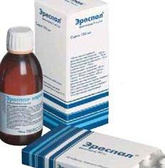 Эреспал сироп и таблетки — инструкция по применению, цена