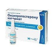 Оксипрогестерона капронат — инструкция по применению, цена
