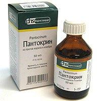 Пантокрин — инструкция по применению, цена