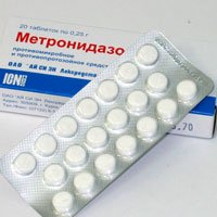 Метронидазол — инструкция по применению, цена