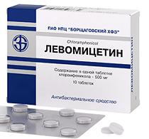 Левомицетин таблетки — инструкция по применению, цена