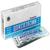 Доксазозин — инструкция по применению, цена