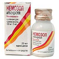 Немозол суспензия и таблетки — инструкция по применению, цена