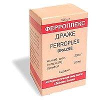 Ферроплекс — инструкция по применению, цена