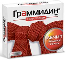 Граммидин таблетки — инструкция по применению, цена