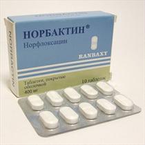 Норбактин — инструкция по применению, цена