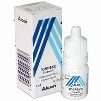 Глазные капли Тобрекс — инструкция по применению, цена