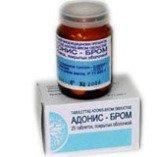 Адонис-бром — инструкция по применению, цена