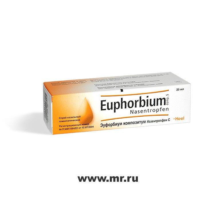 Эуфорбиум композитум — инструкция по применению, цена