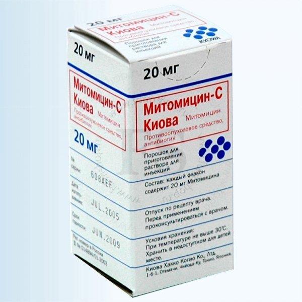 Митомицин — инструкция по применению, цена