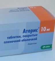 Аторис 10, 20 мг — инструкция по применению, цена
