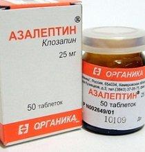 Азалептин — инструкция по применению, цена