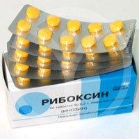 Рибоксин — инструкция по применению, цена