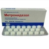 Метронидазол гемисукцинат — инструкция по применению, цена