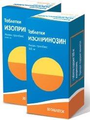 Изопринозин таблетки — инструкция по применению, цена