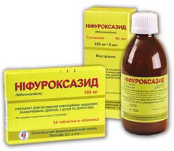Нифуроксазид — инструкция по применению, цена