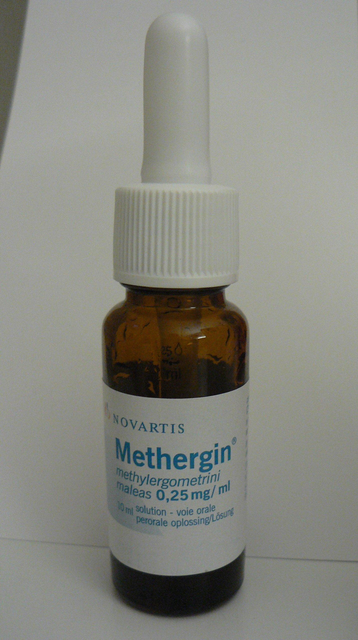 Метилэргометрин — инструкция по применению, цена