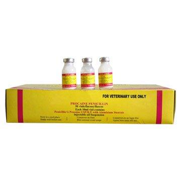 Прокаин бензилпенициллин — инструкция по применению, цена
