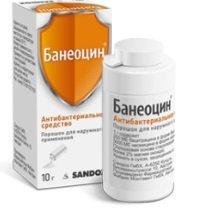 Банеоцин порошок — инструкция по применению, цена