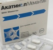 Акатинол мемантин — инструкция по применению, цена