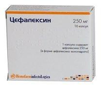 Таблетки Цефалексин — инструкция по применению, цена