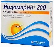 Йодомарин 100 и 200 — инструкция по применению, цена