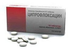 Ципрофлоксацин таблетки — инструкция по применению, цена
