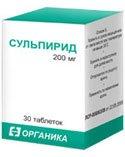 Сульпирид — инструкция по применению, цена