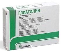 Глиатилин — инструкция по применению, цена