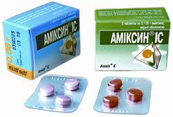 Амиксин — инструкция по применению, цена