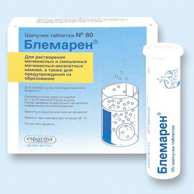 Блемарен — инструкция по применению, цена