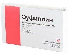 Эуфиллин таблетки — инструкция по применению, цена
