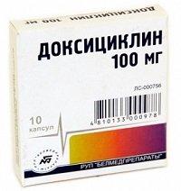 Доксициклин — инструкция по применению, цена