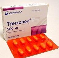 Трихопол таблетки — инструкция по применению, цена