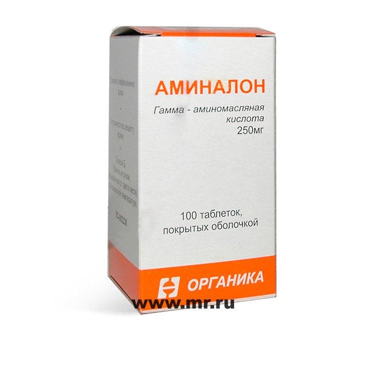 Аминалон — инструкция по применению, цена