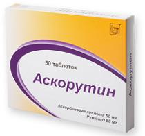 Аскорутин таблетки — инструкция по применению, цена