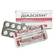 Диазолин — инструкция по применению, цена
