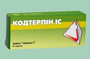 Кодтерпин — инструкция по применению, цена